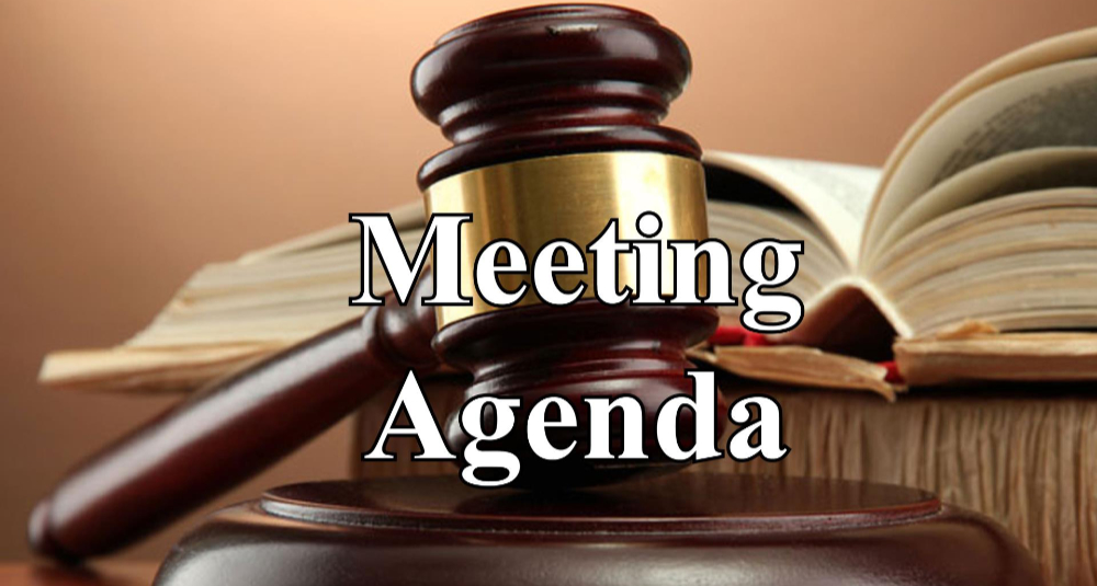 Meeting agenda icon