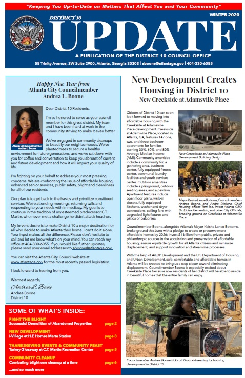 District 10 - Newsletter